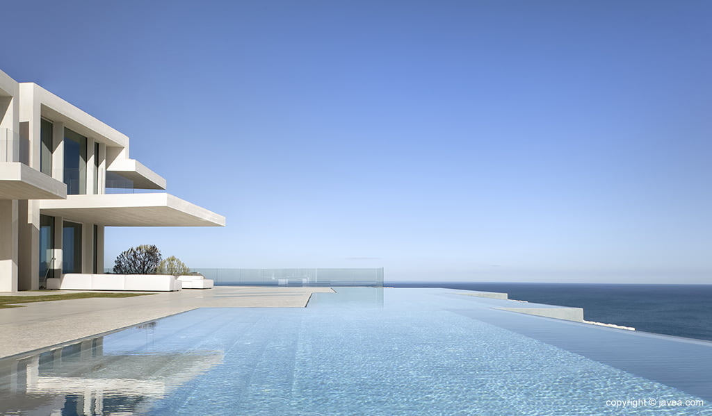 Casa Sardinera, piscina de Construma