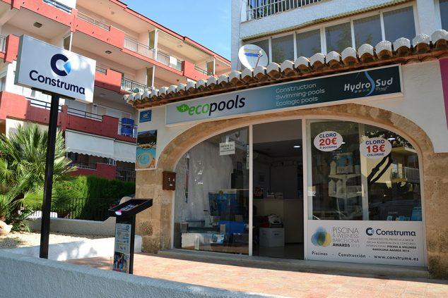 Imagen: Ecopools entrada tienda