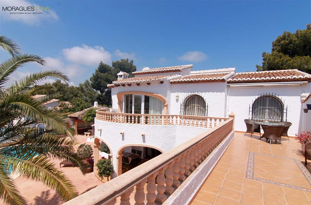 Terrassa de la propietat en venda per MORAGUESPONS Mediterranean Houses