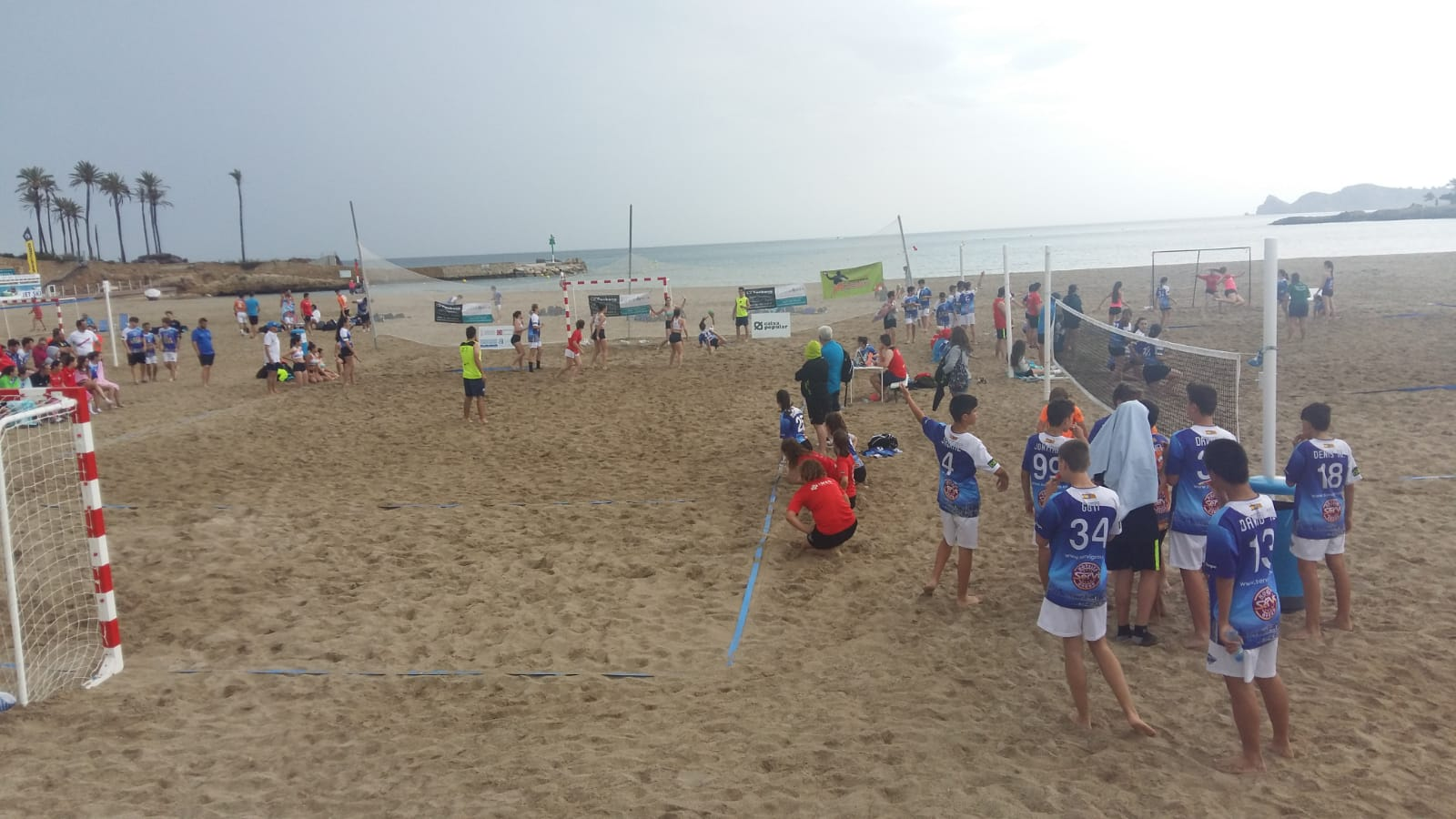 Competición Handbol Playa