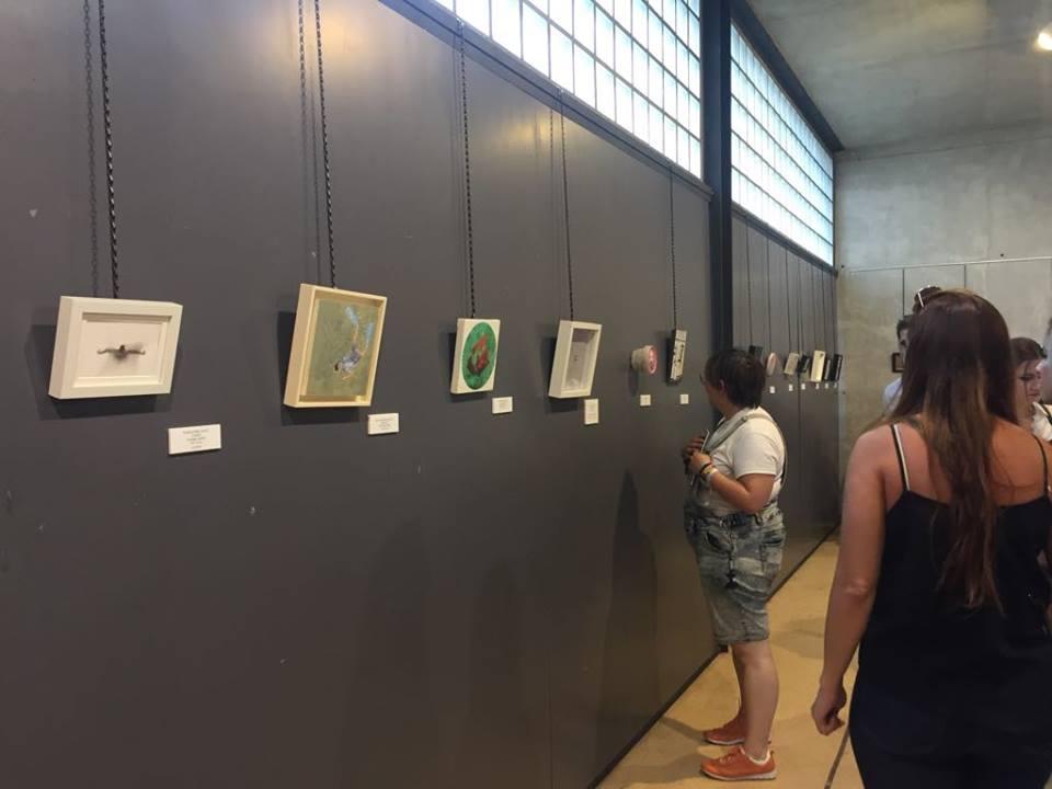 Exposición obras concurso elda