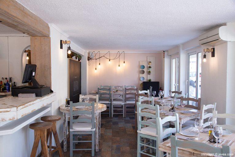 Interior restaurante VidaFina