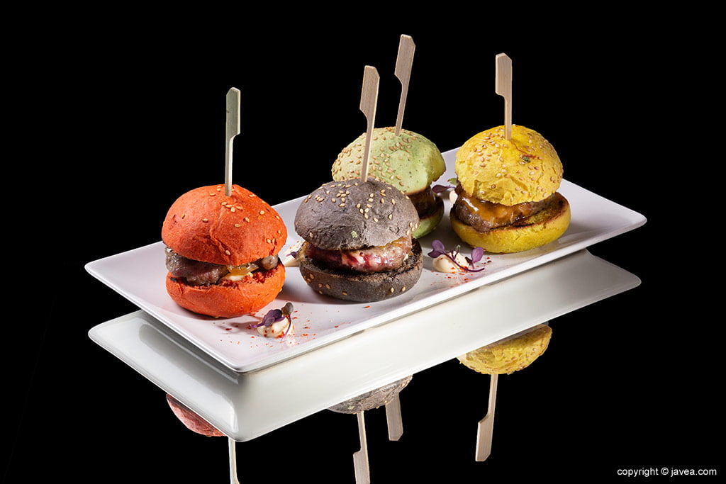 Mini hamburguesas VidaFina
