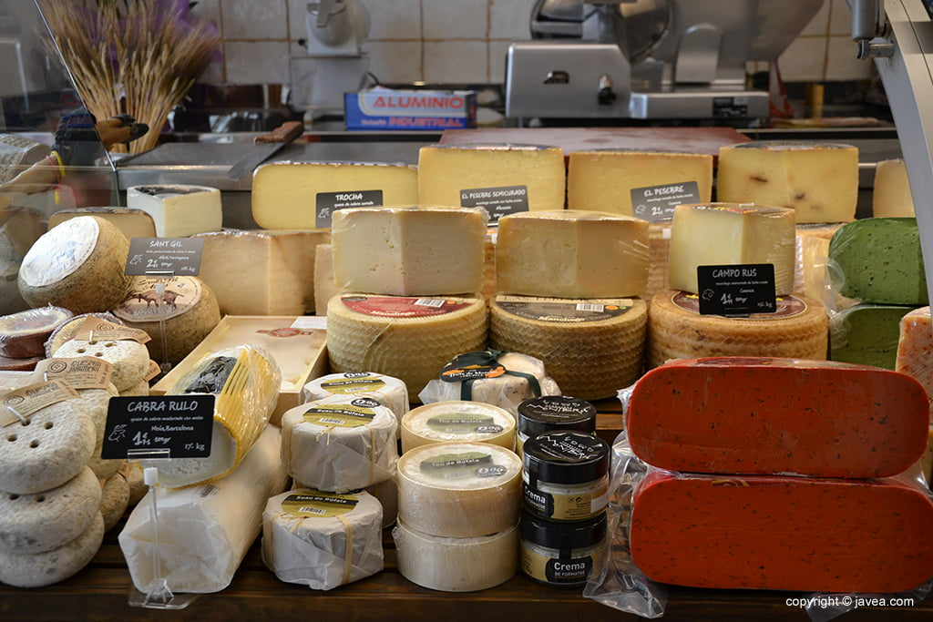 Miraltall Carns i Formatges queijos requintados