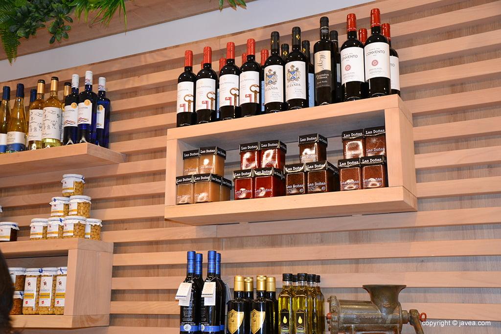 Miraltall Carns i Formatges vinhos