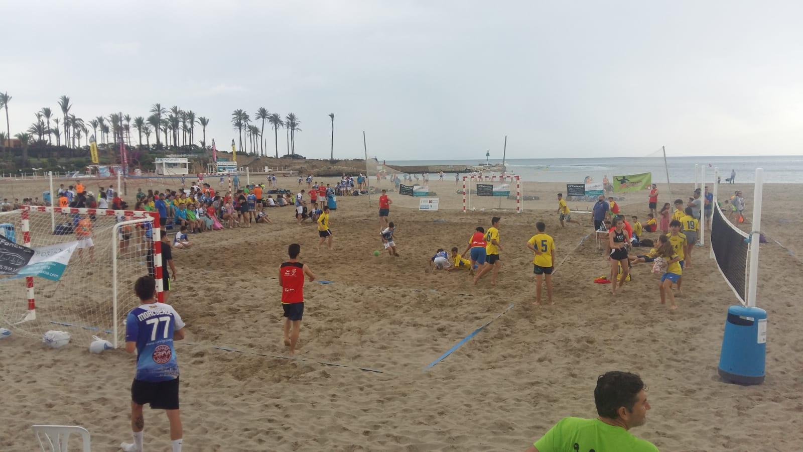 Partido de Handbol Playa