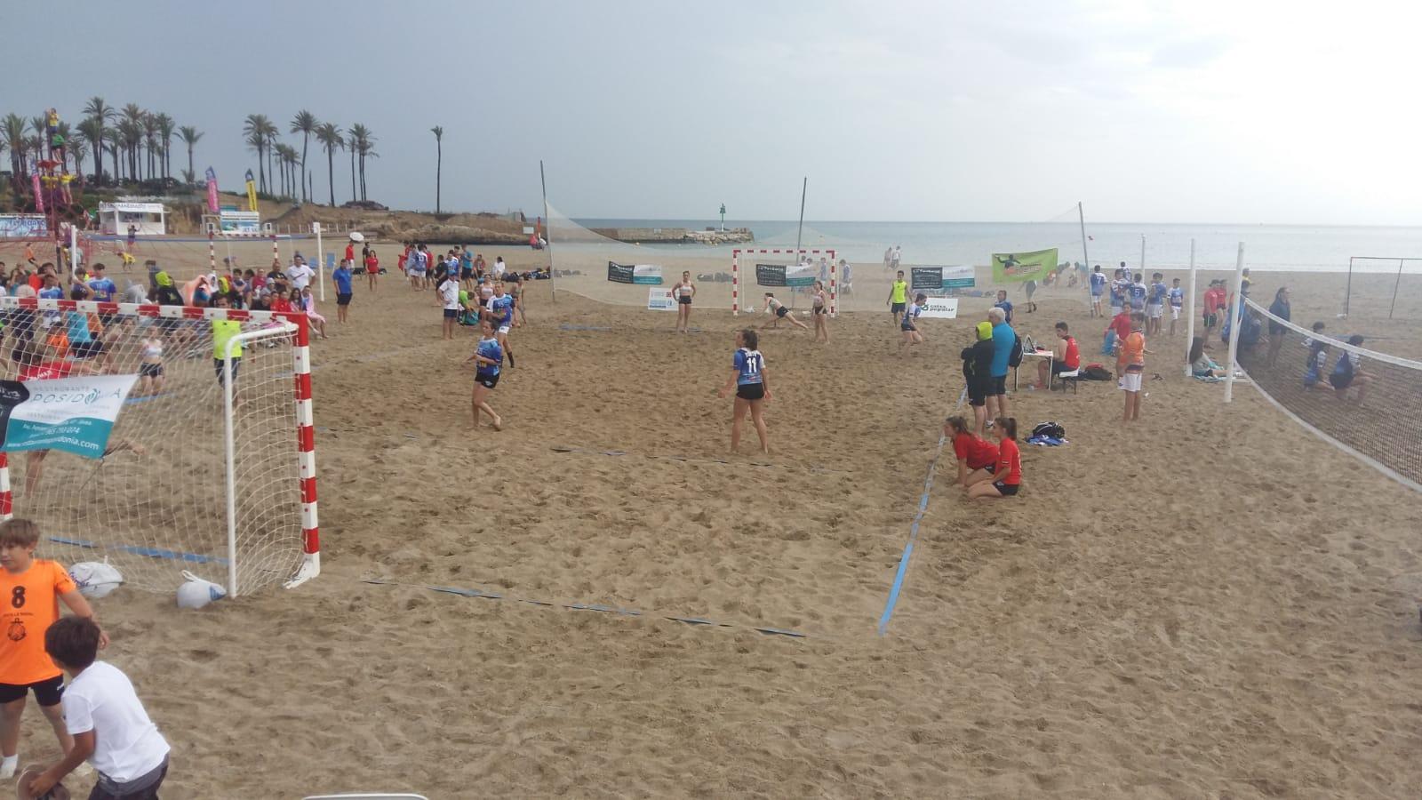 Partido Handbol Playa