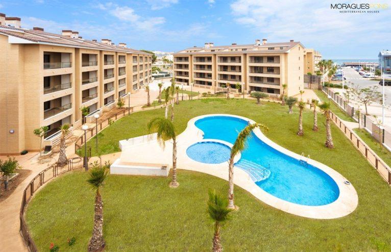 Piscina comunitaria MORAGUESPONS Mediterranean Houses