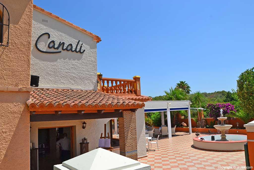 Entrada Restaurante Canali