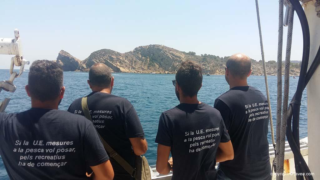 Los marineros protestan por las medidas de pesca de la UE