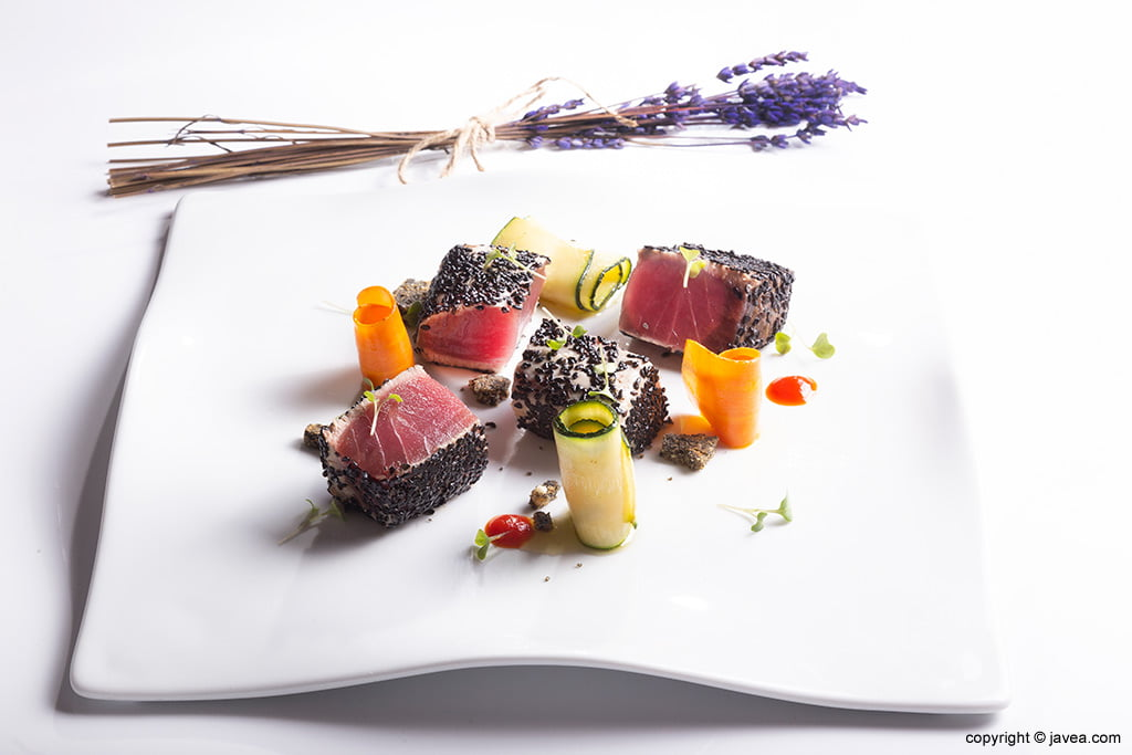 Sushi en Restaurante Canali