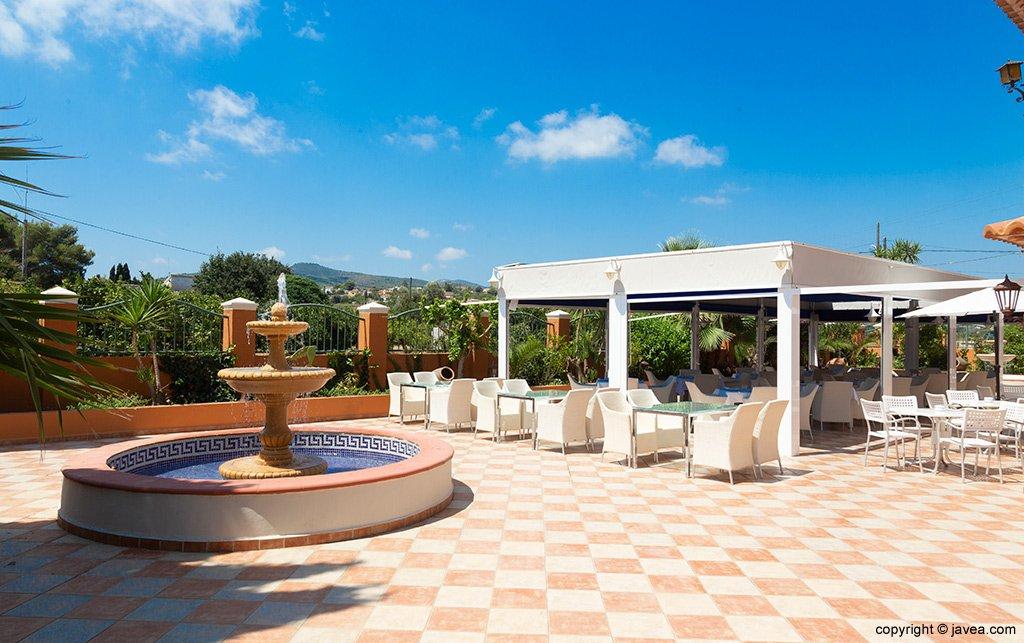 Terraza con vistas Restaurante Canali