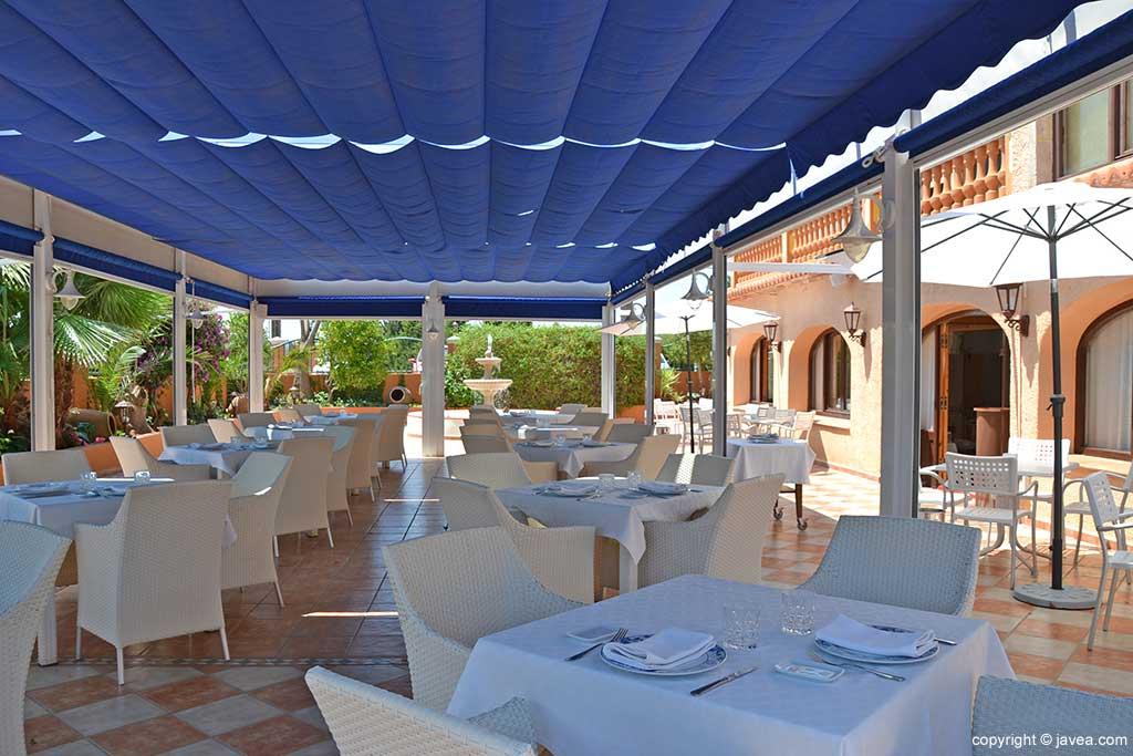 Terraza Restaurante Canali