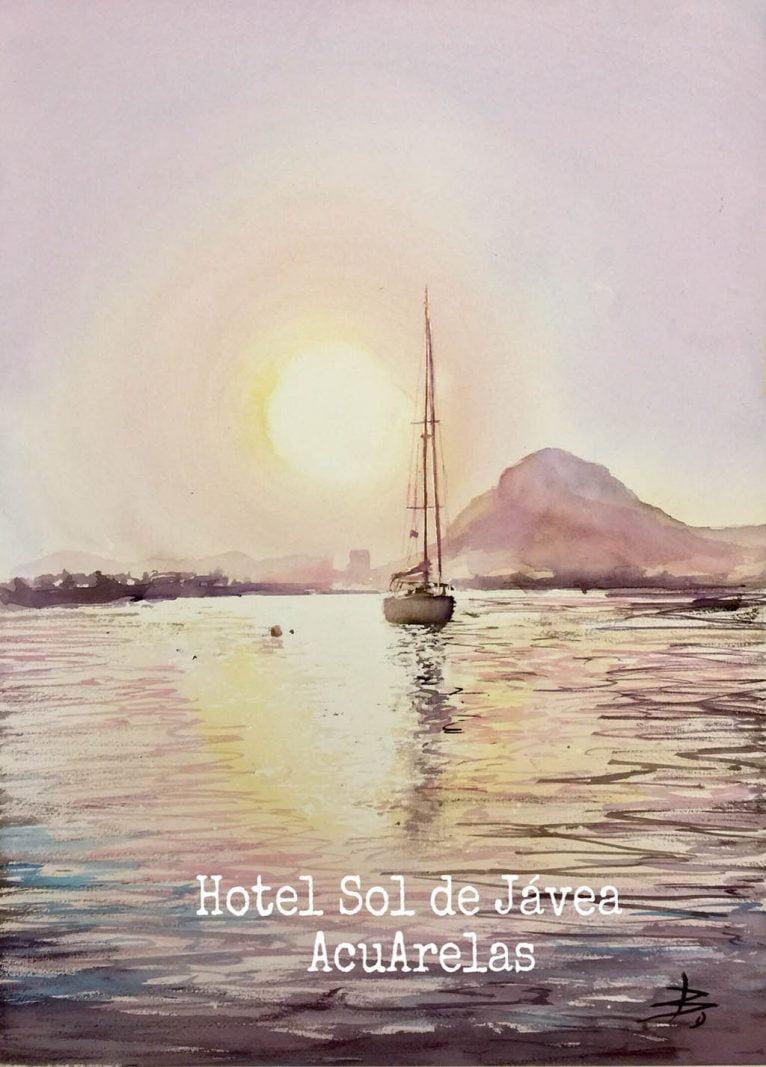 Exposición de Acuarelas en Hotel Sol