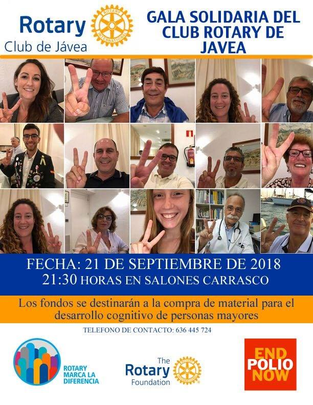 Gala Solidaria Club Rotary