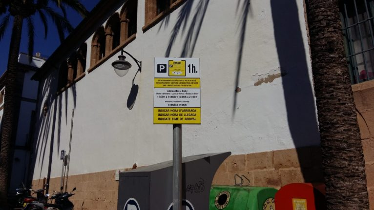 Nou sistema d'aparcament