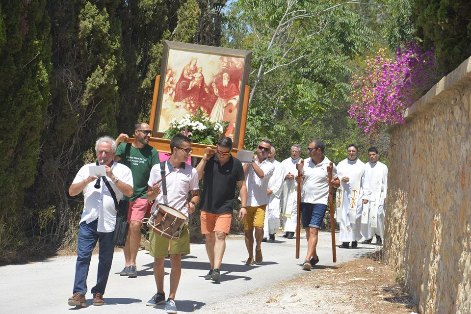 Fiesta Virgen de los Ángeles