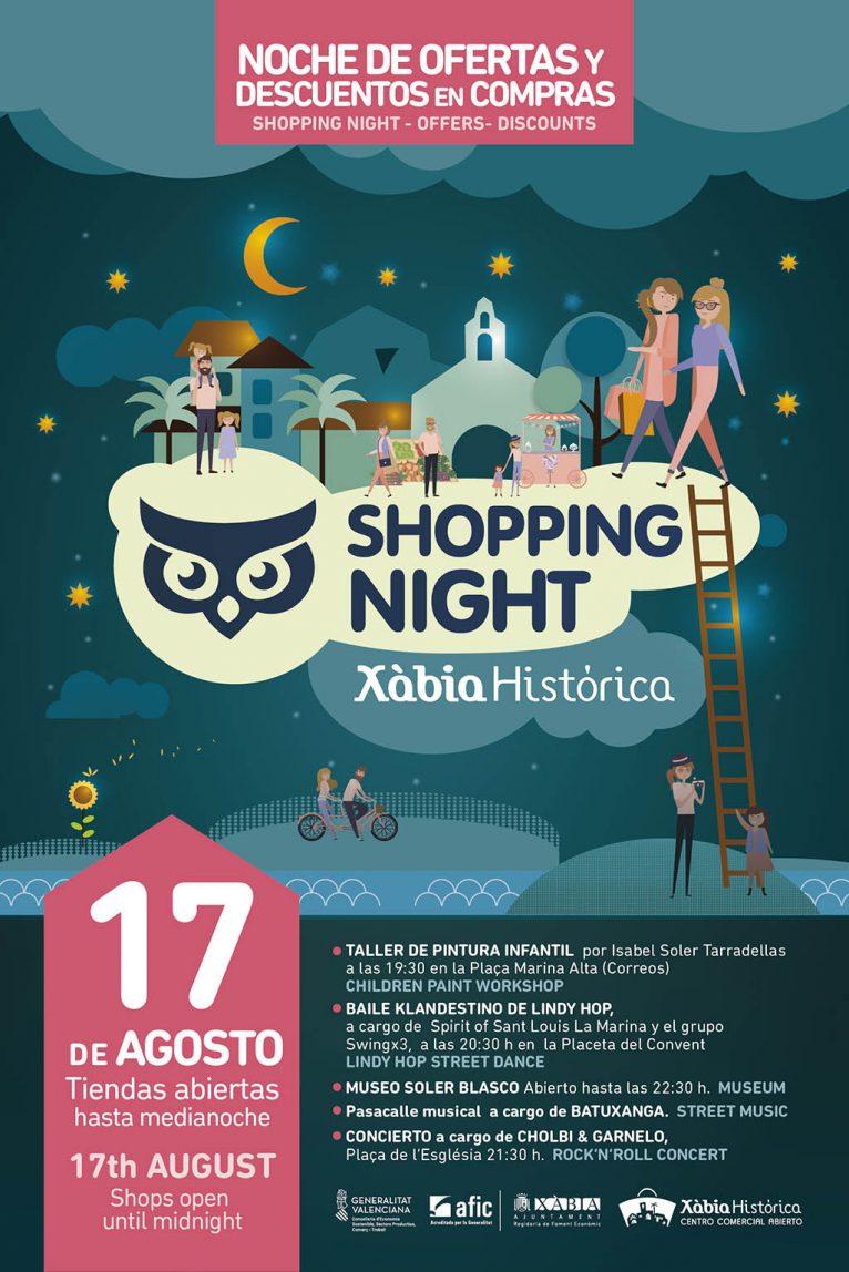 Shopping Night Xàbia Histórica