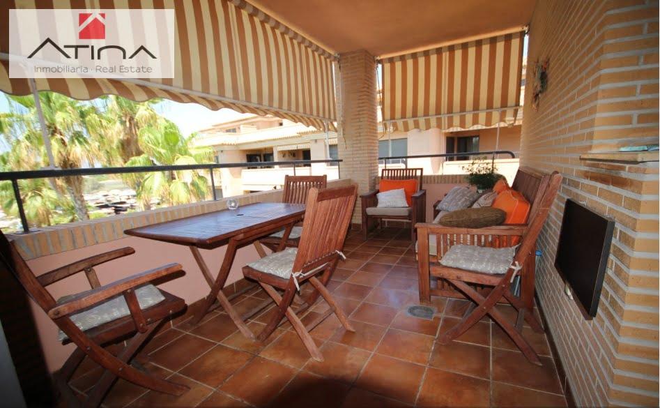 Terraza cubierta ático-dúplex Atina Inmobiliaria