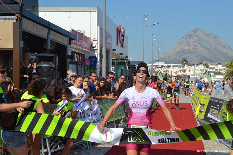 Karem Faus triunfadora en Olímpico