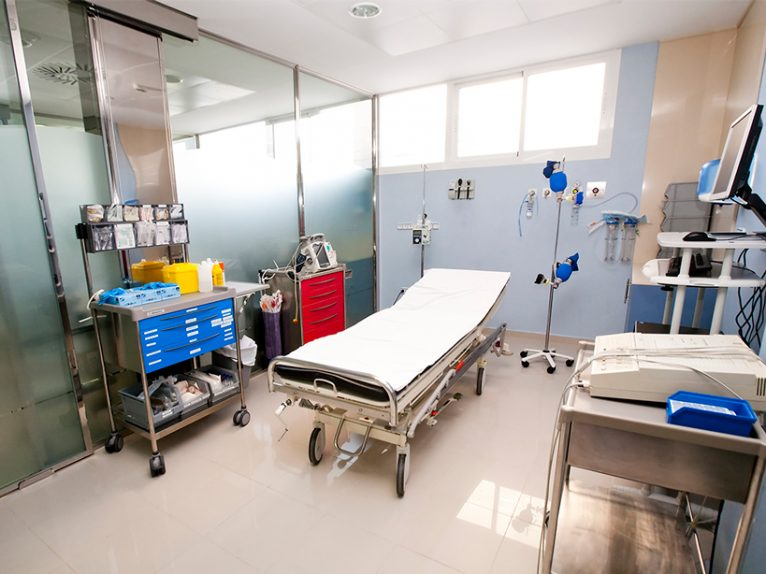 Box Urgencias Hospital Clínica Benidorm