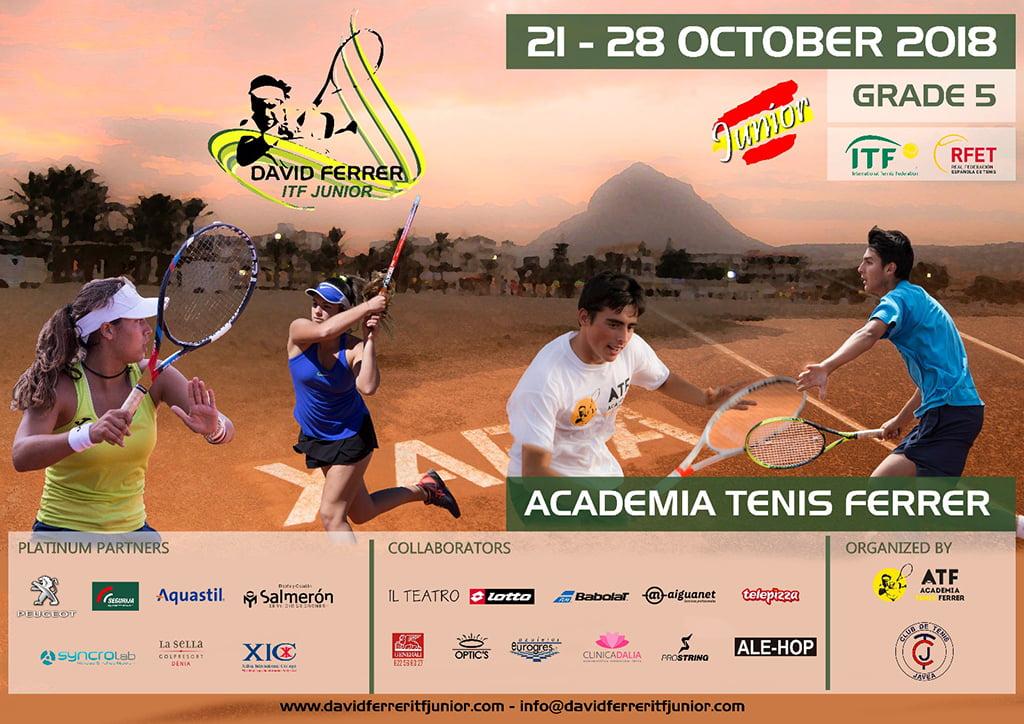 Cartel ITF Junior David Ferrer