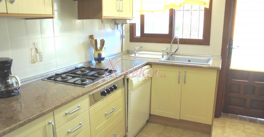 Cocina Chalet Cap Martí Xabiga Inmobiliaria