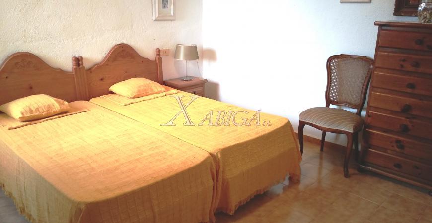 Dormitorio Chalet Cap Martí Xabiga Inmobiliaria