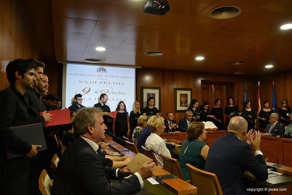 Premios 9 de octubre 2018 Vila de Xàbia