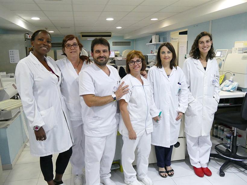 Equipo Laboratorio Hospital Clínica Benidorm