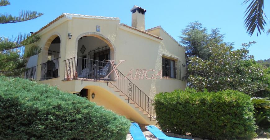 Fachada Chalet Cap Martí Xabiga Inmobiliaria