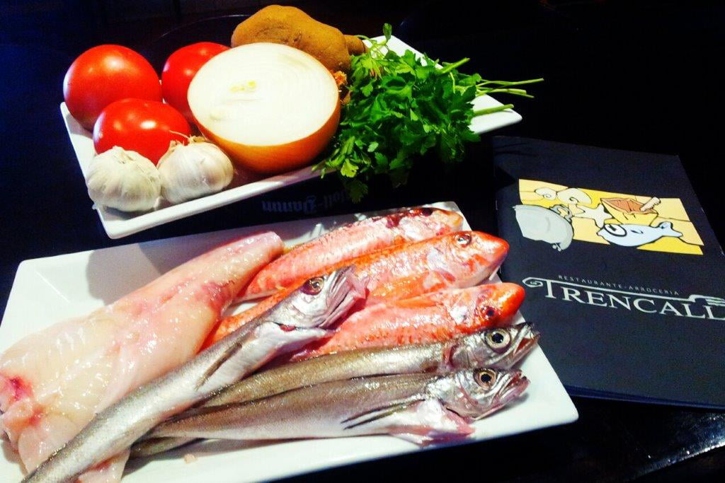 Producto fresco Restaurante Trencall
