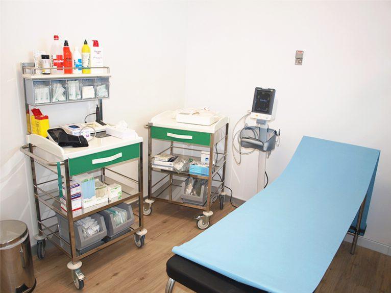 Sala de curas HCB Calpe Internacional