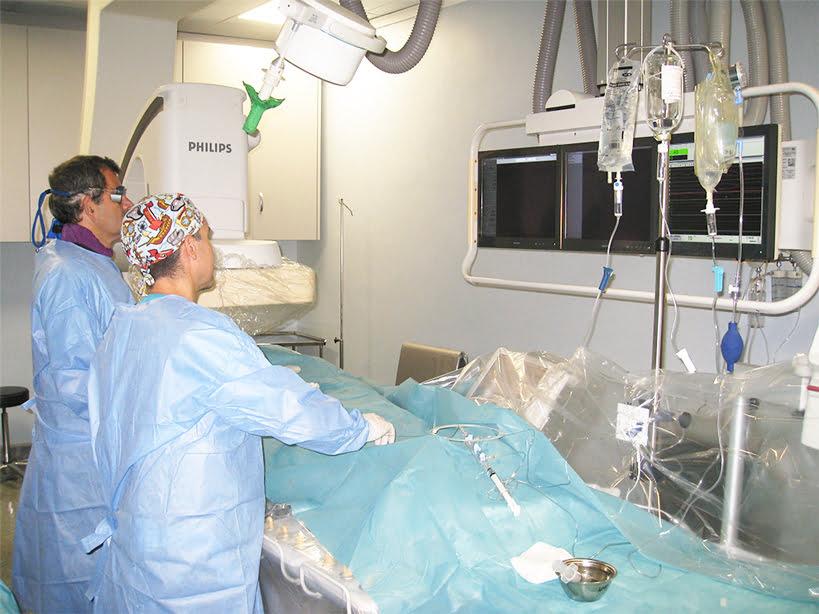 Sala Hemodinâmica Hospital Clínica Benidorm