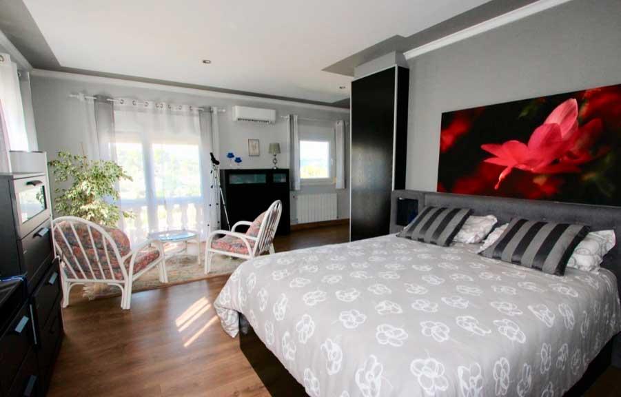 Dormitorio Villa Toscal Villadom Inmobiliaria