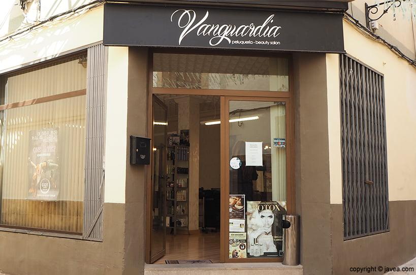 Façana Vanguardia Perruqueria