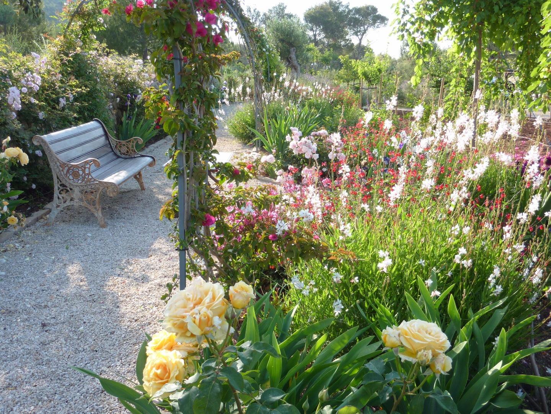 Jardines mediterr neos sostenibles para el ahorro de agua for Plantas jardin mediterraneo