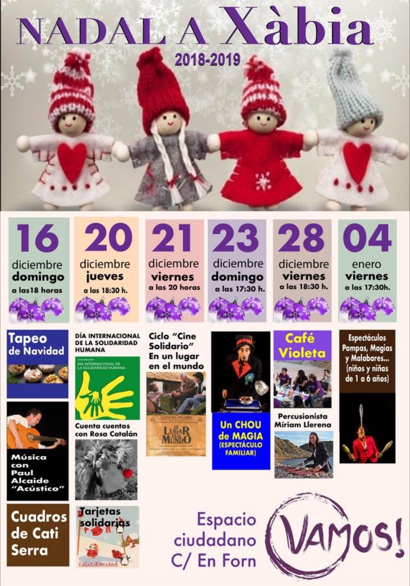 Actividades de Navidad de Podem Xàbia
