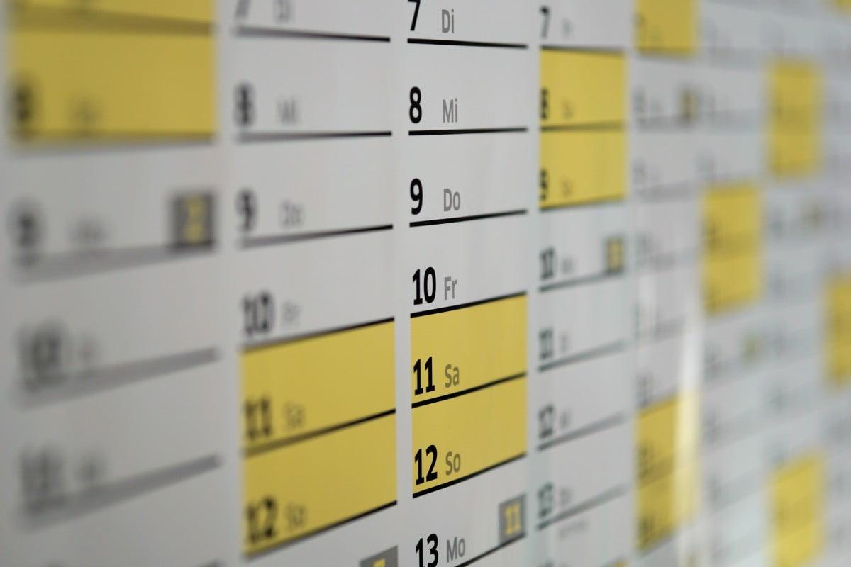 Calendario Laboral Javea 2020.Calendario Laboral De 2019 En Xabia