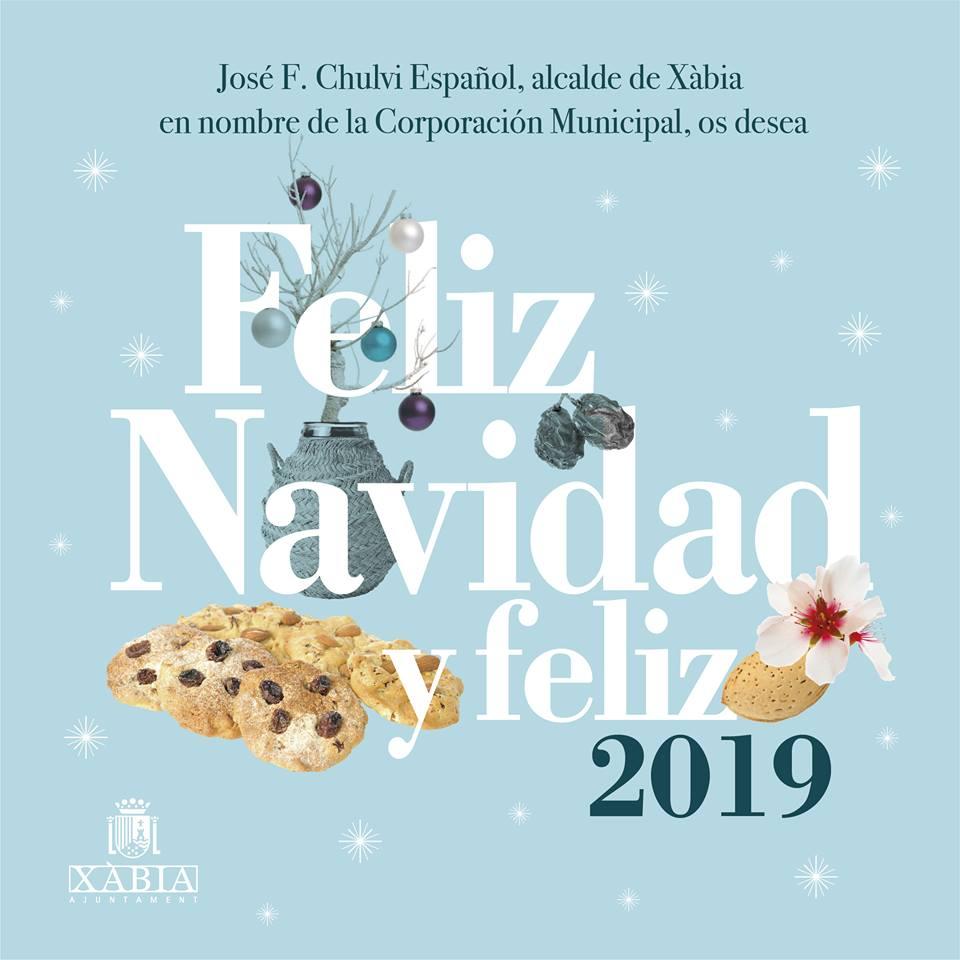 Imagenes Felicitacion Navidad 2019.Felicitacion Navidad Ayuntamiento Javea Javea Com Xabia Com