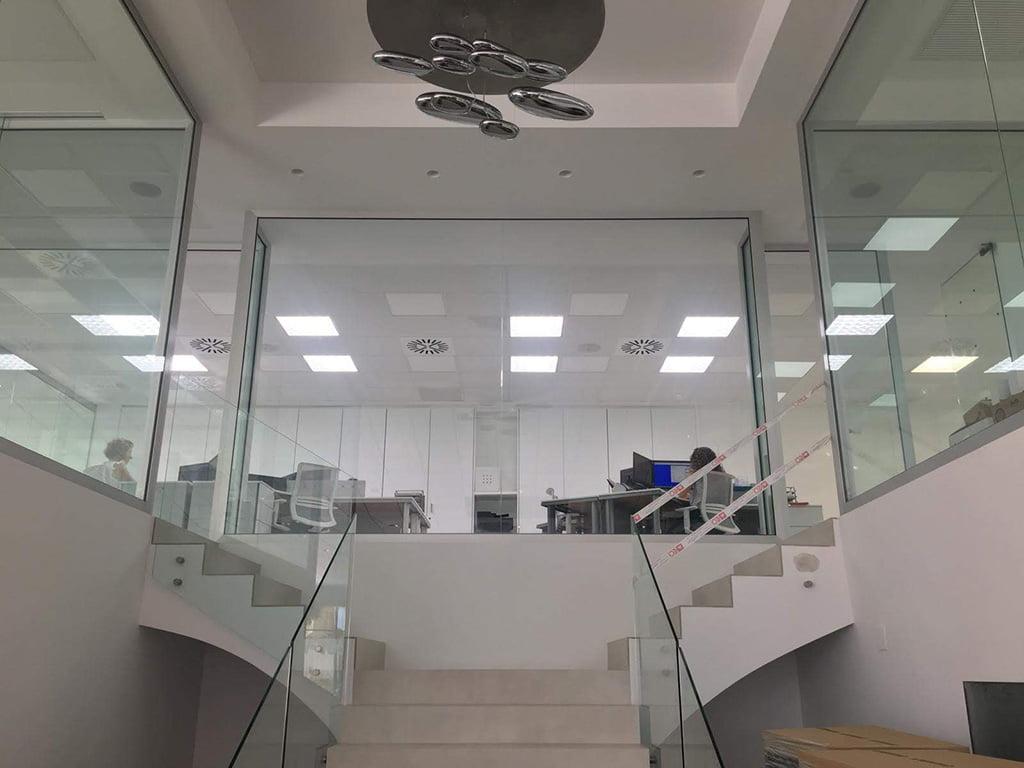 Iluminación para empresas Solatube Levante