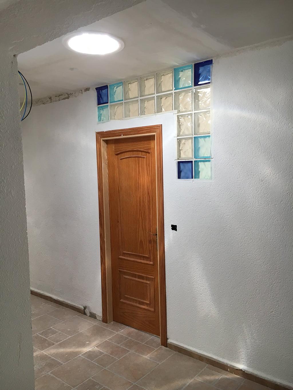 Instalación pasillo Solatube Levante