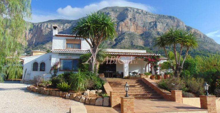 Villa en venda a Xabiga Immobiliària