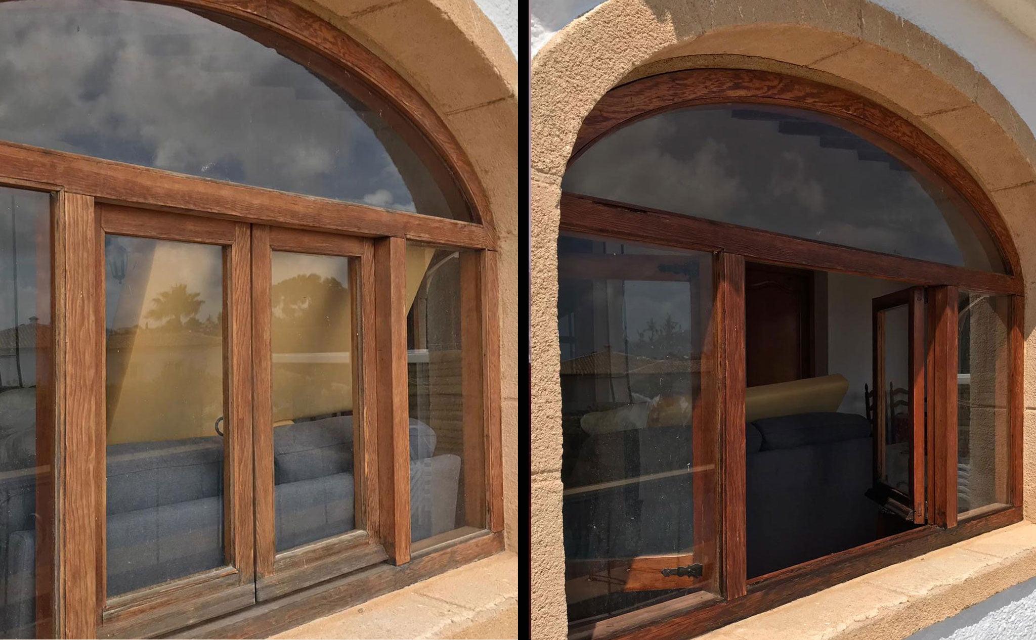 Cambios en un ventanal – Pinturas Juanvi Ortolà