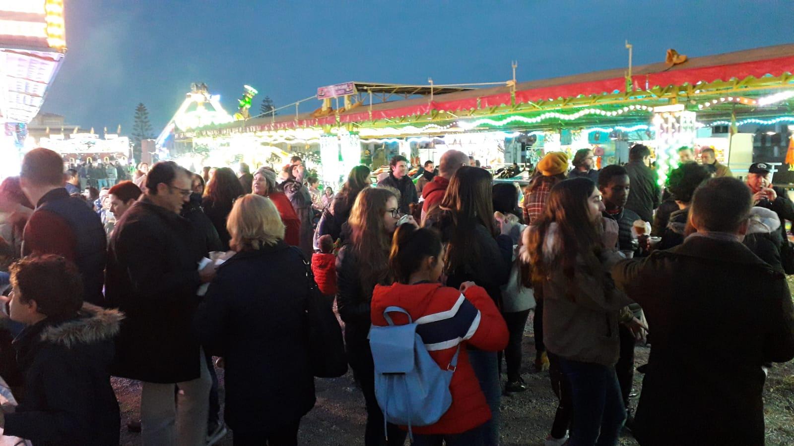 Gran ambiente en la Feria de Atracciones
