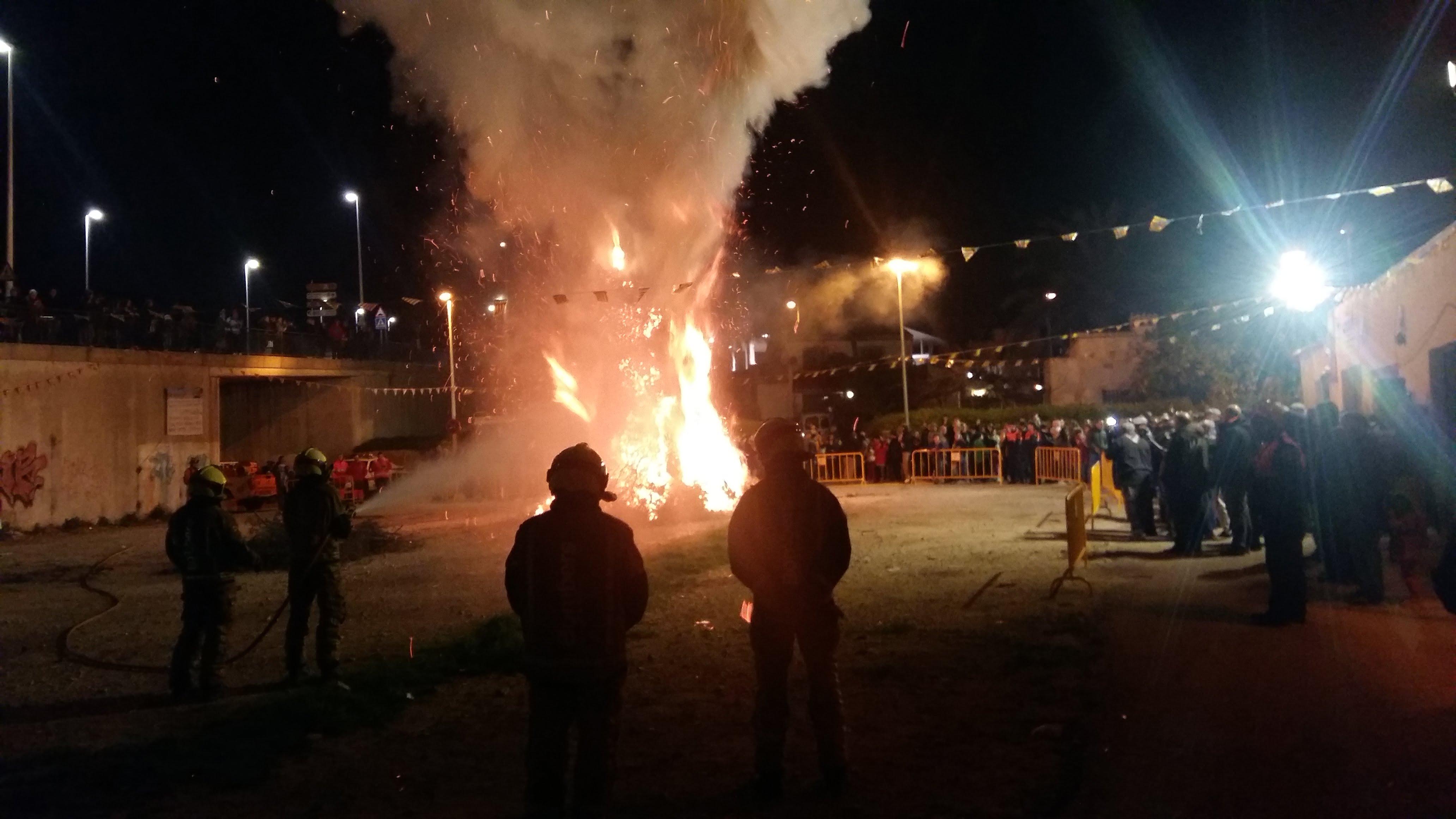 Celebración de Sant Antoni en Xàbia