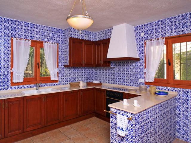 Cocina de la casa Terramar Costa Blanca