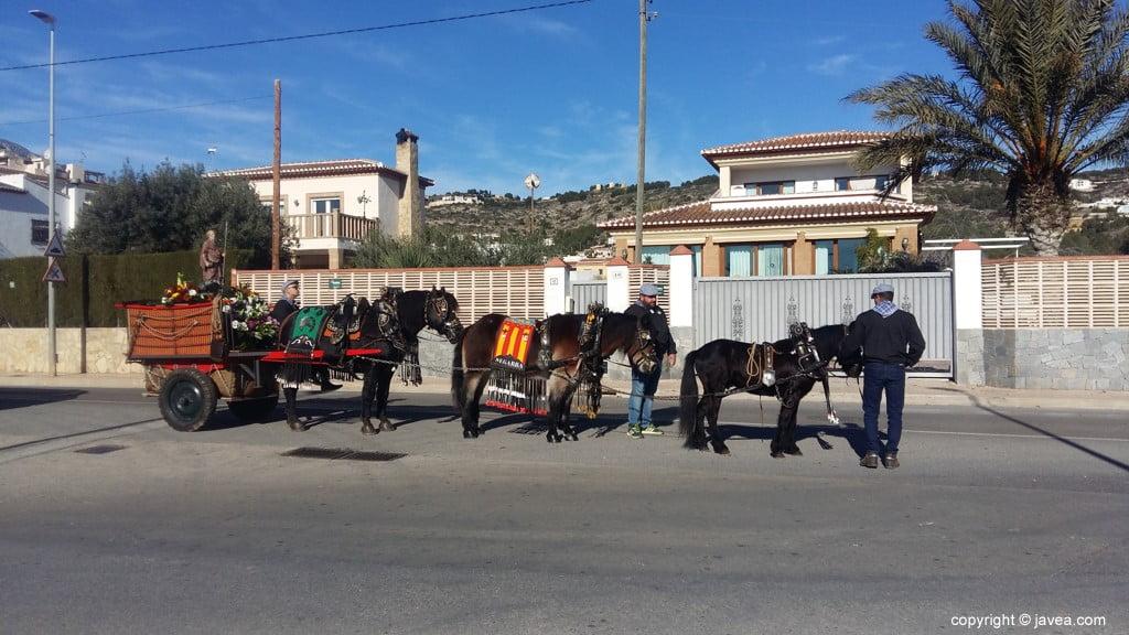 Desfile de caballería de San Anton