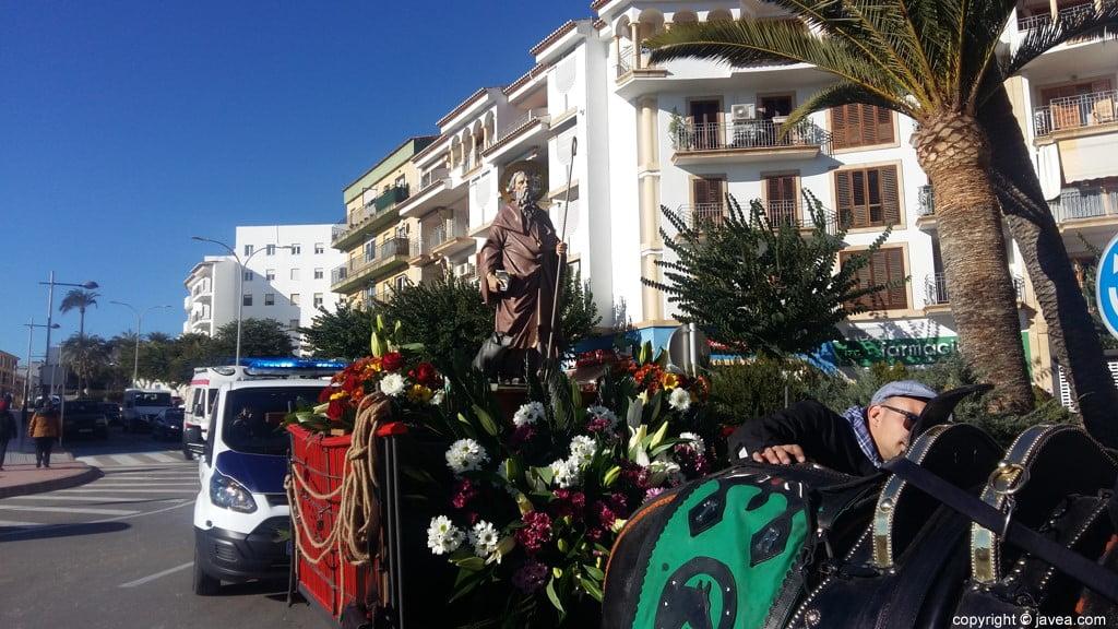 Desfile de las caballerías de Sant Antoni Xàbia