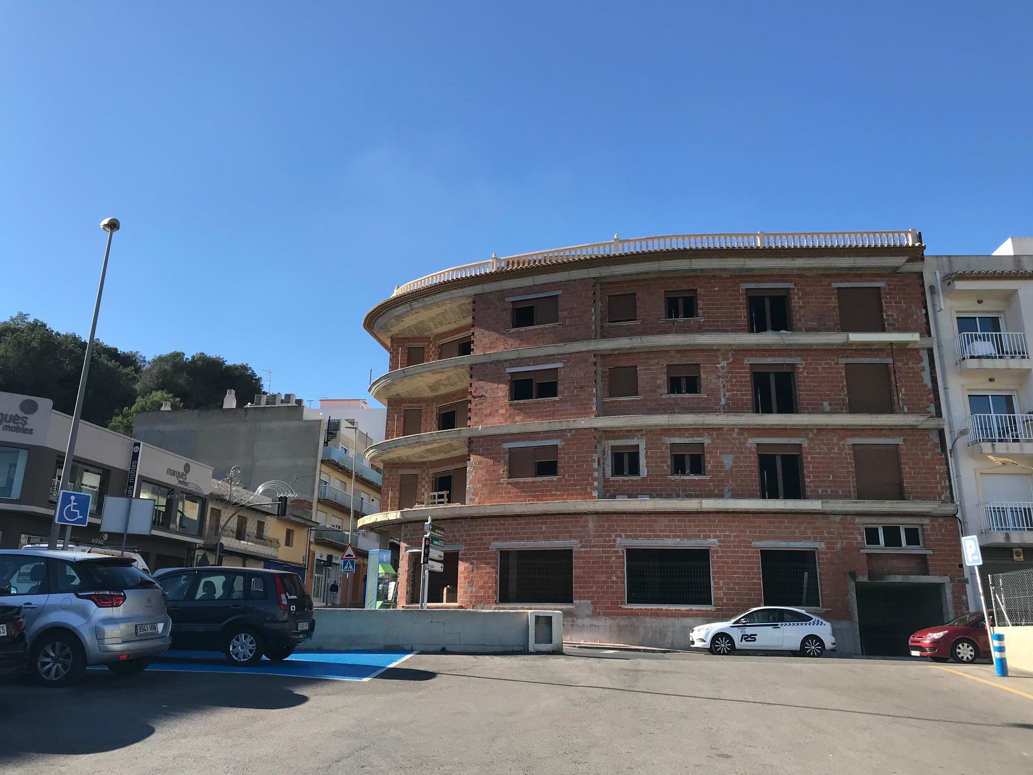Edificio adquirido por el Ayuntamiento de Benitatxell